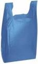 Plastic T-Shirt Bag Blue