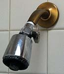 Author's Showerhead with Built In Shut Off Valve