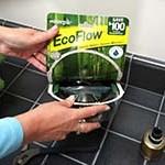 Low Flow Handheld Shower Easy Open Package