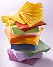 Pile of Paper Napkins