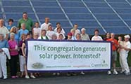 Congregation with Solar Power (from GreenFaith)