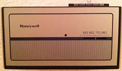 Author's Home Thermostat Circa 1980s