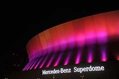 Mercedes-Benz Superdome Lit by LED Lights