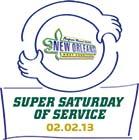 Super Saturday of Service 02.02.13 Logo