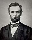 President Abraham Lincoln - 1863