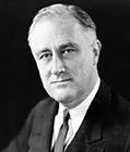 President Franklin D. Roosevelt - 1933