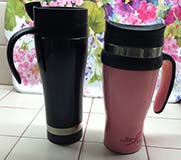 Author's Reusable Travel Mugs