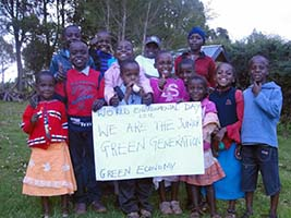 World Environment Day Photo of Kids (Junior Green Generation Green Economy)
