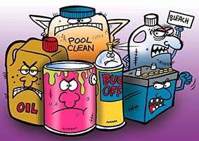 Household Hazardous Waste Examples - Lee County, FL