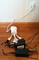 Squid Power Strip - Printer Area
