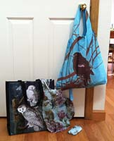 Author's Reusable Shopping Bags