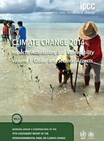 IPCC Climate Change 2014 Impacts, Adaptation, Vulnerabilities Report Cover WGII