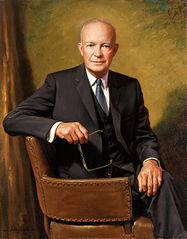 President Dwight D. Eisenhower - Portrait by James Anthony Wills, 1967