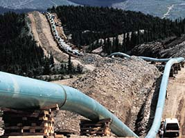 TransCanada Oil Pipeline under Construction - Photo: Earth First!