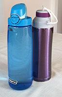 Author's Reusable Water Bottles