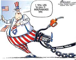 I Still Like to Call it Independence Day Cartoon - Source: Interfaith Power & Light