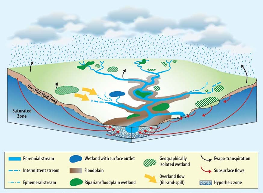 Watershed Elements - Figure: EPA