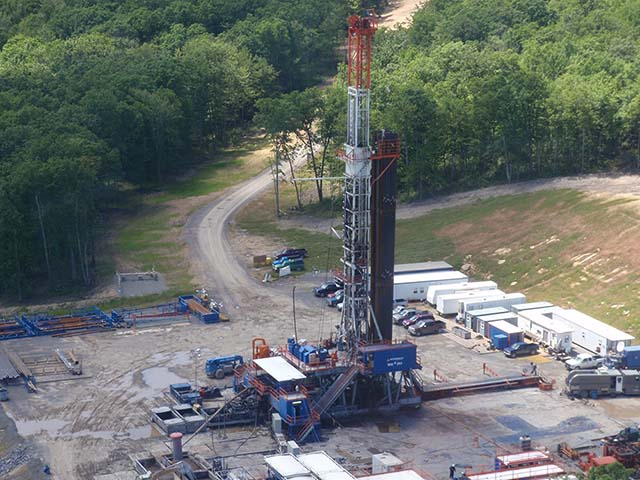 Marcellus Shale Fracking Site in Pennsylvania - Photo: Professor Robert Jackson