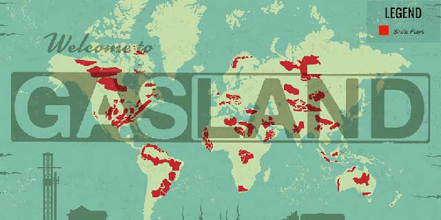 Welcome to Gasland Map - Image: Gasland the Movie