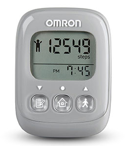 Omron Alvita Ultimate Pedometer in Grey