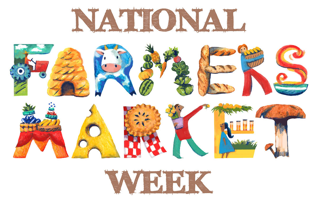 National Farmers Market Week 2017 Logo