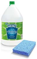 Heinz Cleaning Vinegar with Sponge