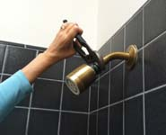 Existing Showerhead Removal