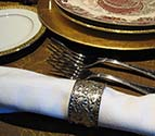 Napkin with Napkin Ring