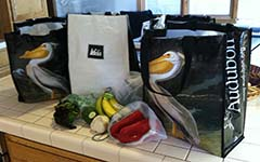 Author's Reusable Grocery Bags