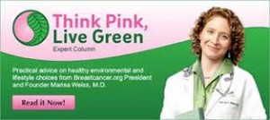 Think Pink, Live Green Blog