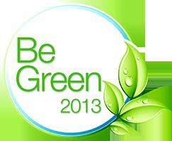 BeGreen2013 Logo