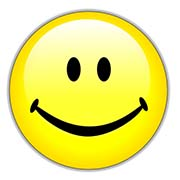 Yellow Happy Smiley Face