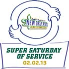Super Saturday of Service 02.02.13 Logo
