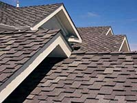 Roof with Asphalt Roof Shingles