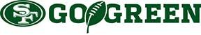 San Francisco 49ers Go Green Logo
