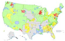 Smart Grid Investment Grants Map