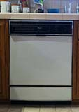 Author's Whirlpool Dishwasher Model DU8900XT