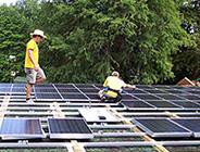 White House Grounds Maintenance Building Solar Installation - Photo: Solar Design Associates