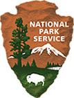 National Park Service Arrowhead Emblem Logo