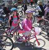 Bike to School Day 2009 in Seattle, WA