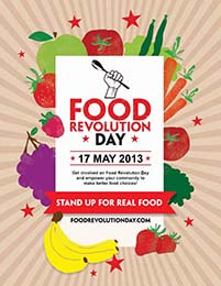 Food Revolution Day 2013 Poster