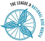 National Bike Month Logo - The League of American Bicyclists