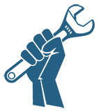 iFixit Fist Holding Wrench