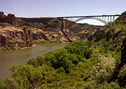 Perrine Bridge over Snake River - Rivers and Harbors Act of 1899 - Photo: U.S. Army Corps of Engineers