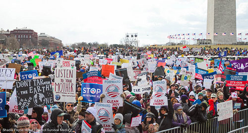 Forward on Climate Rally in Washington, D.C. on 02/17/13 - Photo by Shadia Fayne Wood