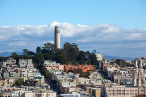 Coit Tower in San Francisco, California