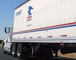 U.S. Postal Service Mail Semi Truck