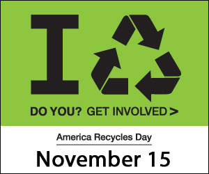 America Recycles Day Banner 2013