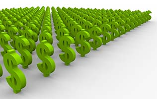 Green Investing - Green Dollar Signs