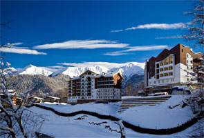 Alpine Resort at Rosa Khutor - Photo: Sochi 2014 Organizing Committee